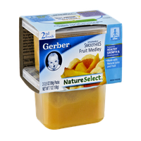 Gerber Nature Select 2nd Foods Fruit Medley - 2CT