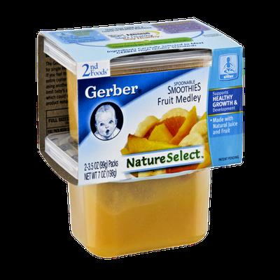 Gerber® Nature Select 2nd Foods Fruit Medley