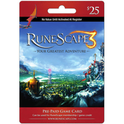 inComm Jagex RuneScape $25 Card