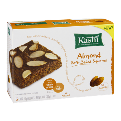 Kashi Soft-Baked Squares Almond - 5 CT