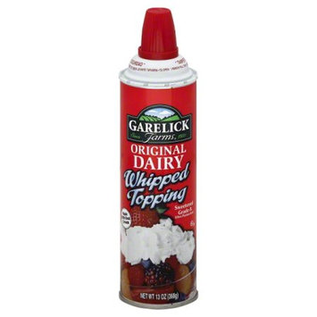 Garelick Farms Original Dairy Whipped Topping, 13 oz
