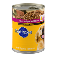 Pedigree® Filet Mignon Flavor Meaty Ground Dinner Food for Dogs