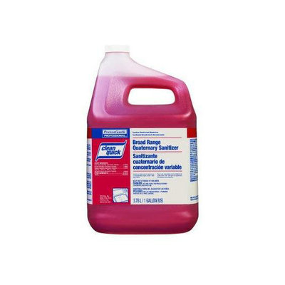 Clean Quick Broad Range Quaternary Sanitizer W/test Strips