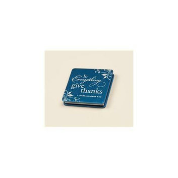 P.  Graham Dunn ACM01 Give Thanks Mirror-Blue Pack Of 4