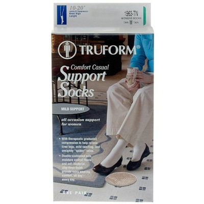 Truform Women's Comfort Casual Mild (8-15 mm) Support Socks