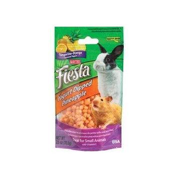 Kaytee Products Fiesta Yogurt Dip Fruit Treats, Pineapple, Tangerine & Orange 2.5oz - For All Small Animals