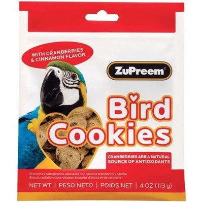 Zupreem Large Bird Cookies - Cranberries and Cinnamon Flavor - 4 oz.