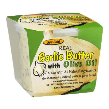 Sea Gold Real Garlic Butter with Olive Oil