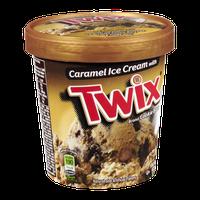 Twix Cookie Bars Caramel Ice Cream