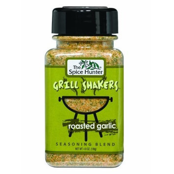The Spice Hunter Roasted Garlic Grill Shaker, 4.5-Ounce Jars (Pack of 6)