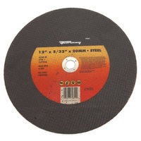 Forney 72351 Chop Saw Blade Type 1 High Speed Metal with 20-Millimeter Arbor A24R-BF 12-Inch-by-5/32