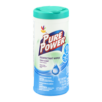 Ahold Pure Power Disinfectant Wipes Fresh Scent - 35 CT