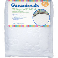 Garanimals - Quilted Waterproof Fitted Crib Pad