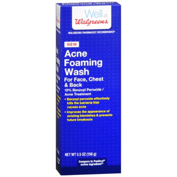 Walgreens Acne Foaming Wash