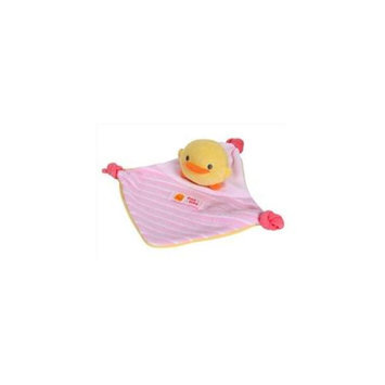 Piyo Piyo 810567P Baby Security Blanket - Pink - Pack of 6