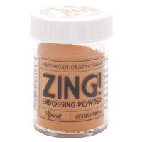 American Crafts Zing! Opaque Embossing Powder 1 Oz-Apricot