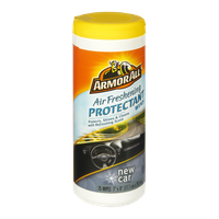 Armor All Air Freshening New Car Scent Protectant Wipes - 25 CT