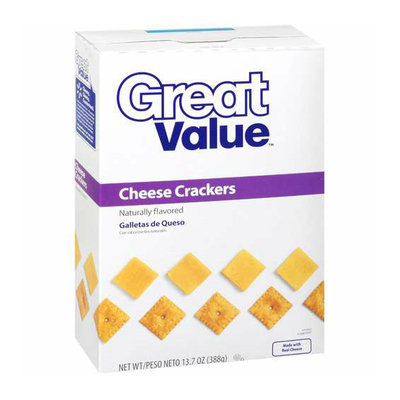 Great Value Cheese Crackers