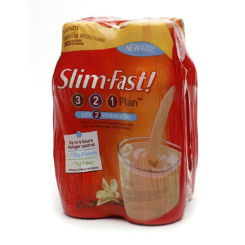 Slim-Fast Shakes 4 Pack French Vanilla
