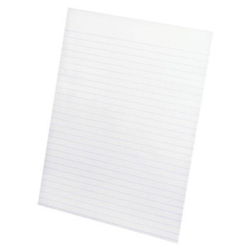 Ampad Glue Top Narrow Ruled Pads, Letter - White (50 Sheets Per Pad)