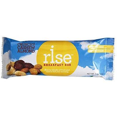 RiseBar Breakfast Crunchy Variety Pack, 1.4 oz, 12-Count Bars