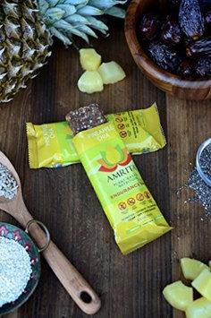 Amrita Health Foods Endurance Bar Pineapple Chia 1.8 oz - Vegan