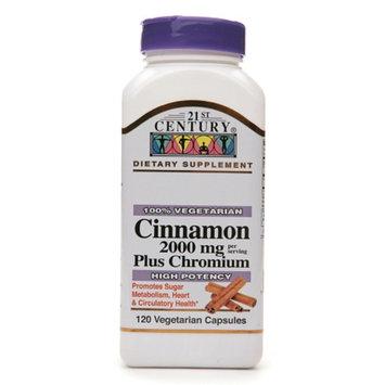 21st Century Cinnamon 2000 mg Plus Chromium