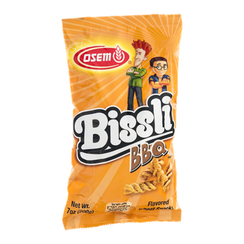 Osem Bissli BBQ Flavored Wheat Snacks