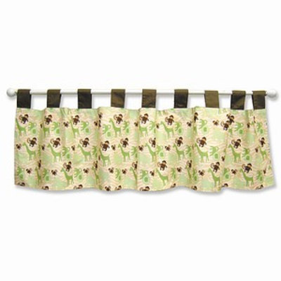 Trend Lab Jungle Jam Window Valance, 1 ea