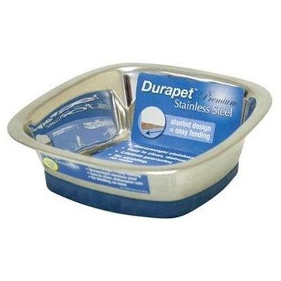 DuraPet Square Dog Bowl, Large (1.5 quarts), Dog, Bowl / Dish, Single, Traditional, Medium, Large