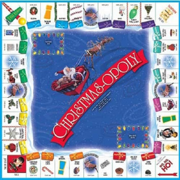 Christmas-opoly Game Ages 8 and up, 1 ea