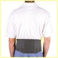 Safe T Lift Safe-T-Lift Back Support Working Lumbar Belt. XX-Large. Black