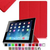 Fintie SmartShell Case for Apple iPad 4th Generation with Retina Display, iPad 3 & iPad 2, Red