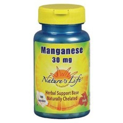 Nature's Life - Manganese, 25 mg, 100 tablets