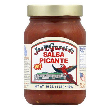 JOE T GARCIA SALSA HOT PICANTE-16 OZ -Pack of 12
