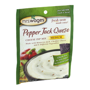 Mrs. Wages Pepper Jack Queso Cheese Dip Mix Medium