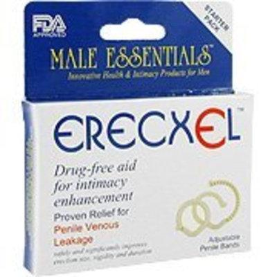 Erecxel Adjustable Penile Bands - Penile Venous Leakage,(Male Essentials)