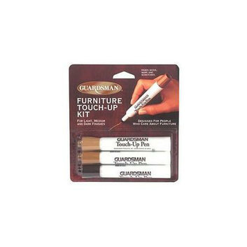 Guardsman 4650-3850-3PK Furniture Touchup Markers - Pack of 12