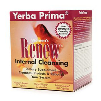 Yerba Prima Women's Renew Internal Cleansing System