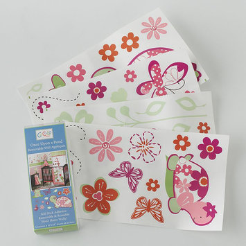 CoCaLo Once Upon A Pond Removable Wall Appliques