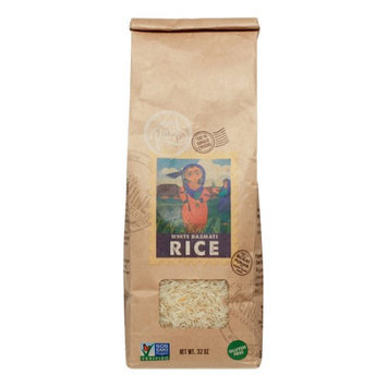 The Real Company RICE, WHITE BASMATTI, (Pack of 6)