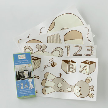 CoCaLo Snickerdoodle Removable Wall Appliques