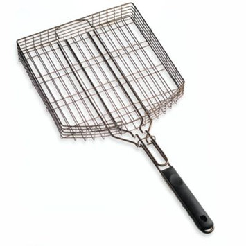 Mr. Bbq Oversized Deluxe Non-Stick Oil Rubbed Bronze Barbecue Grilling Basket