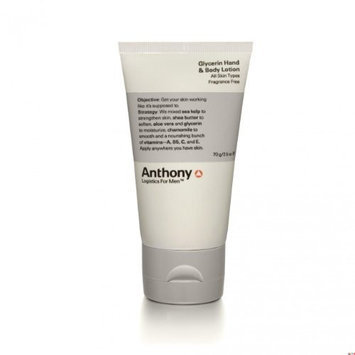 Anthony Logistics for Men Glycerin Hand and Body Lotion, 2.5 fl. oz.