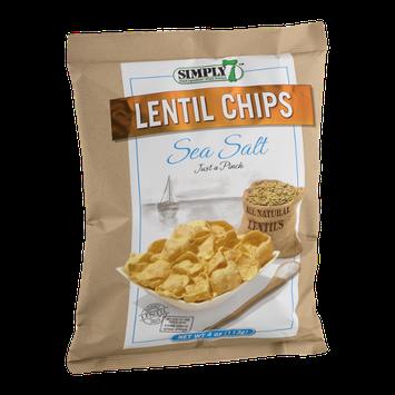 Simply 7 Lentil Chips Sea Salt