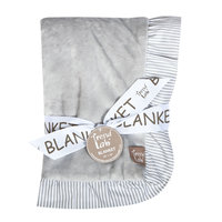 Trend Lab Llc Trend Lab Receiving Blanket - Dove Gray