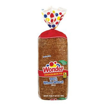 Wonder Stoneground Whole Wheat Bread 24-oz.