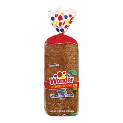 Wonder Stoneground Whole Wheat Bread 24-oz.