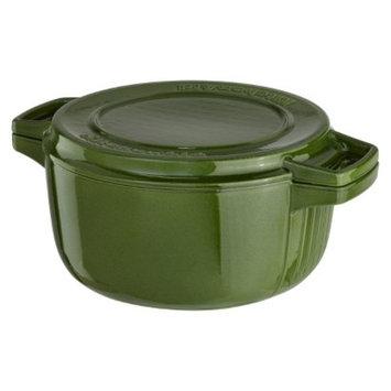 KitchenAid Professional Cast Iron Casserole - Green (6 Qt.)