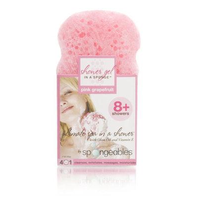 Spongeables Shower Gel In A Sponge (Pink Grapefruit) 8+ Uses